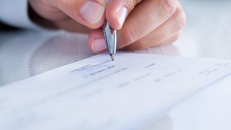 Comment bien rédiger un chèque ?
